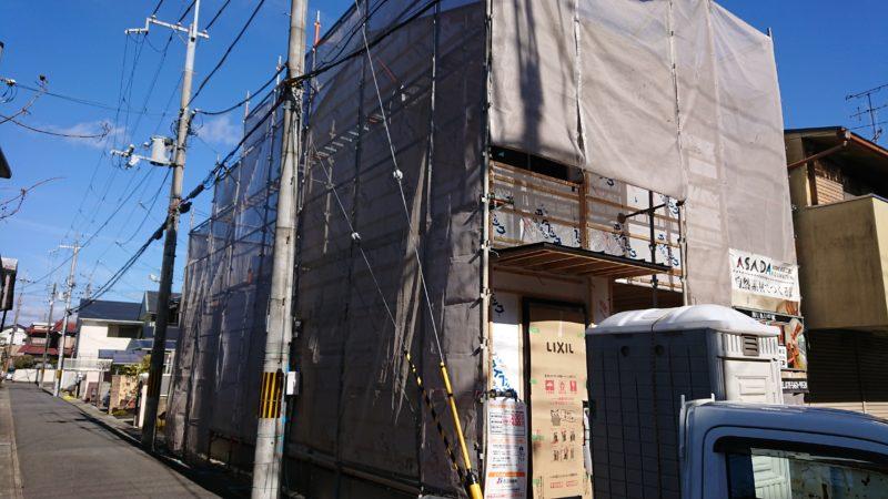 新築工事着工中